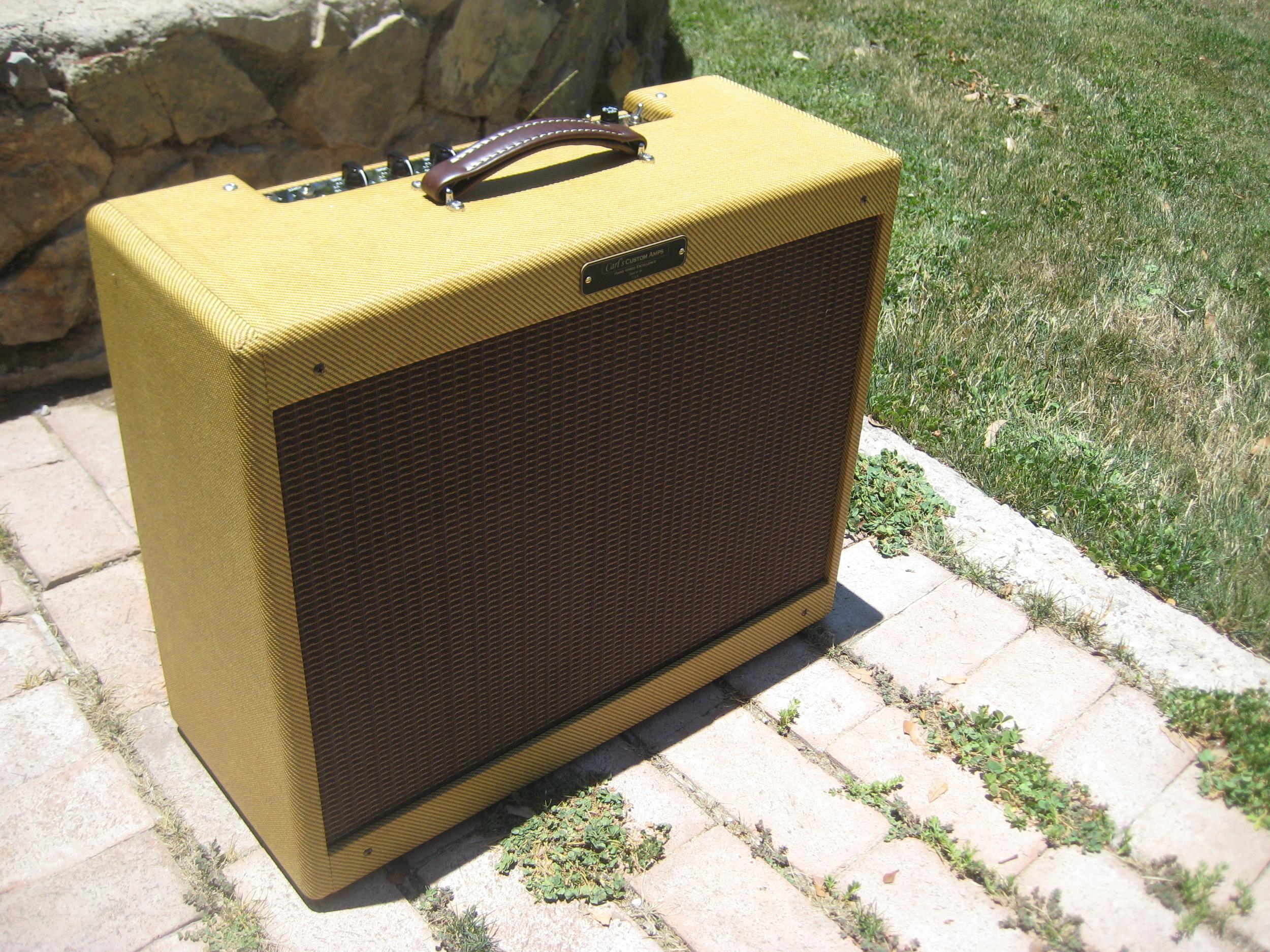 Classic Tweed 15TX2 (Double Deluxe) — Carl's Custom Amps