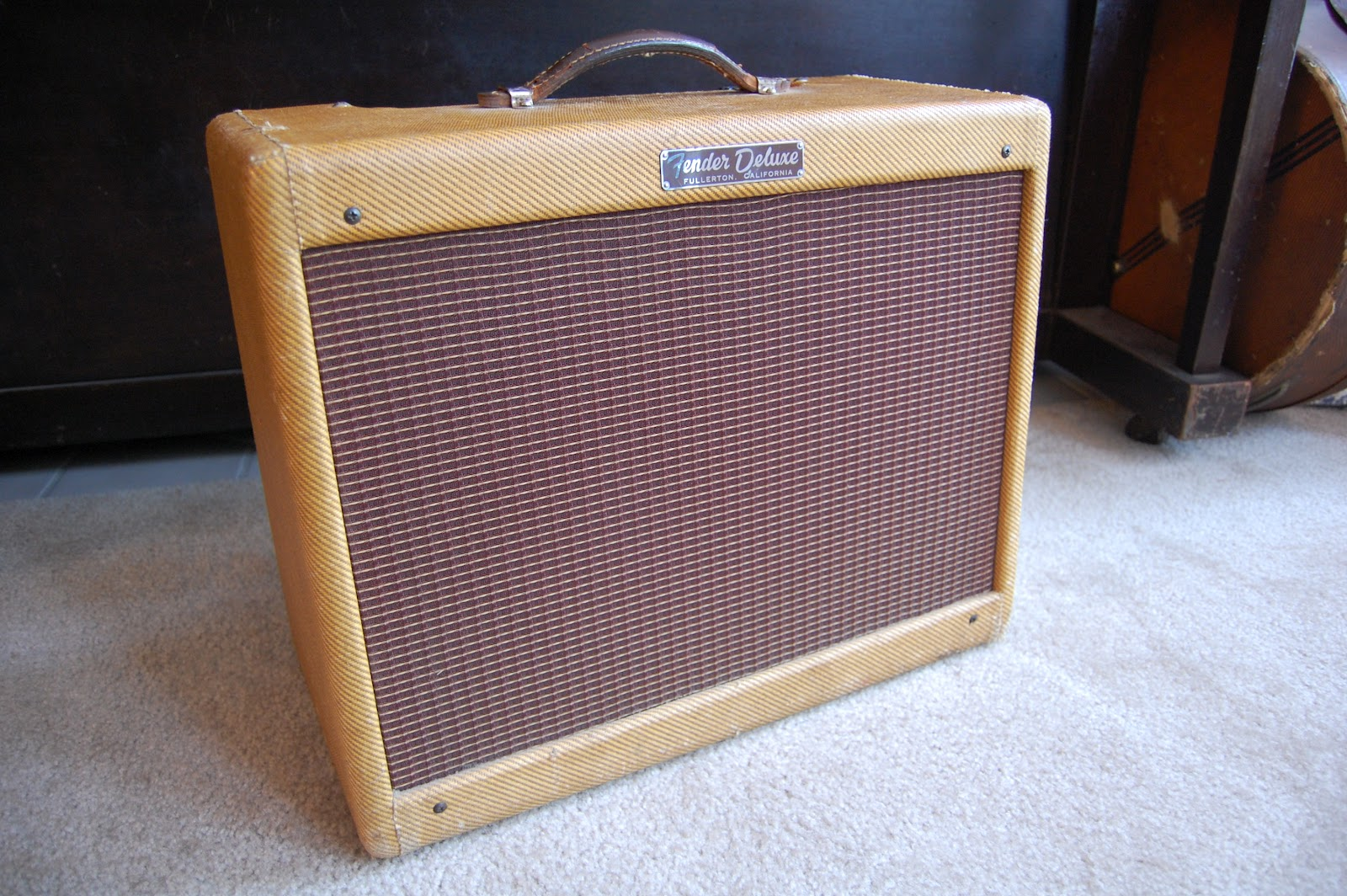History of the Fender Tweed Deluxe — Carl's Custom Amps on