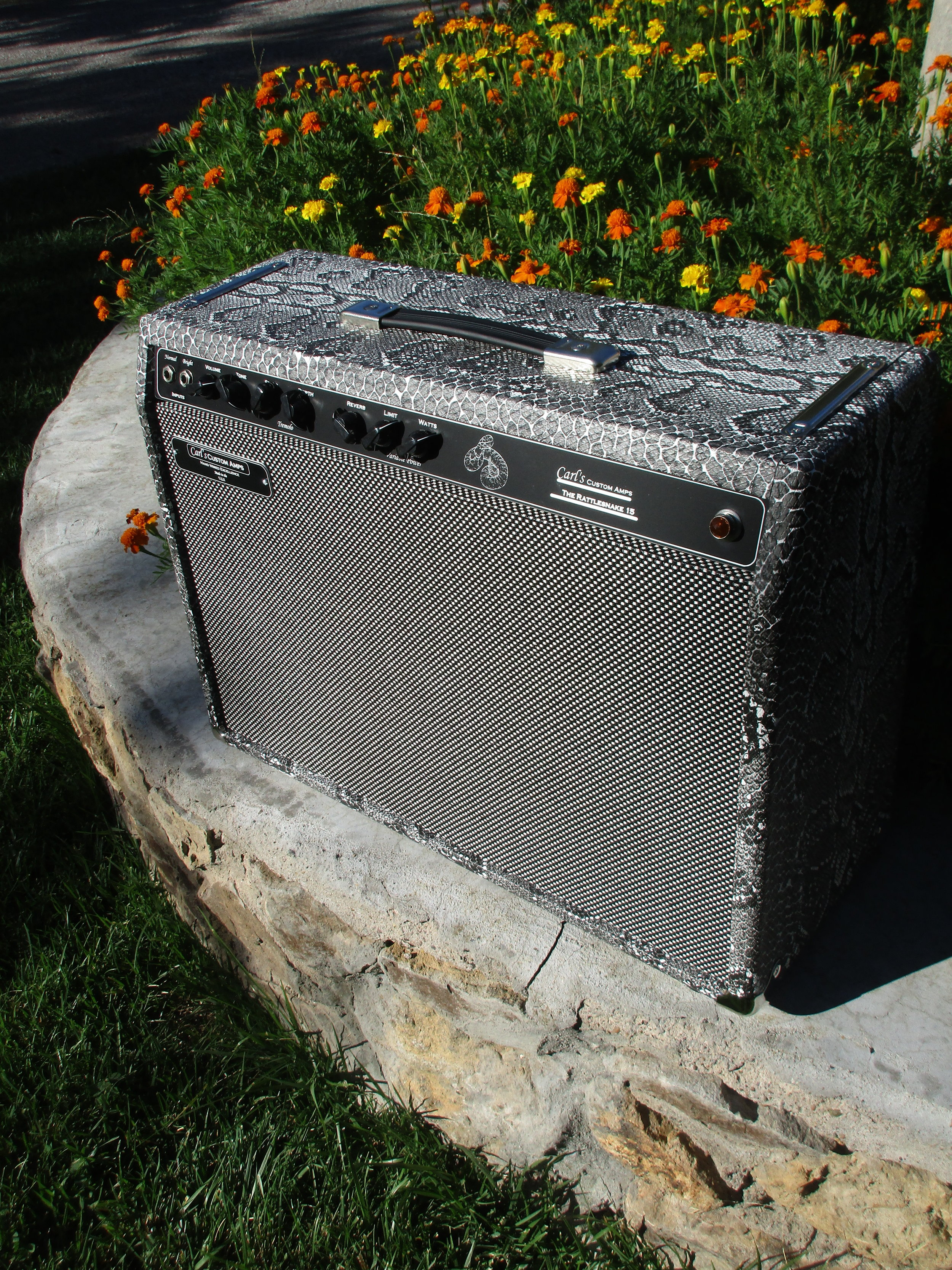 """This custom build is Supro type circuit but fitted with Trem, Reverb, and Variable power! It versatile and great sounding machine! The customer wrote:  """"Loving this amp my friend…It's just perfect!  I can now die a happy bottleneck player!  I can't see myself ever needing another one in this life!  Keep up the good work mate…  we'll chat later about the great harp amp you're gonna build for me!  All the best matey!  Kind Regards""""  Mo—-Australia"""