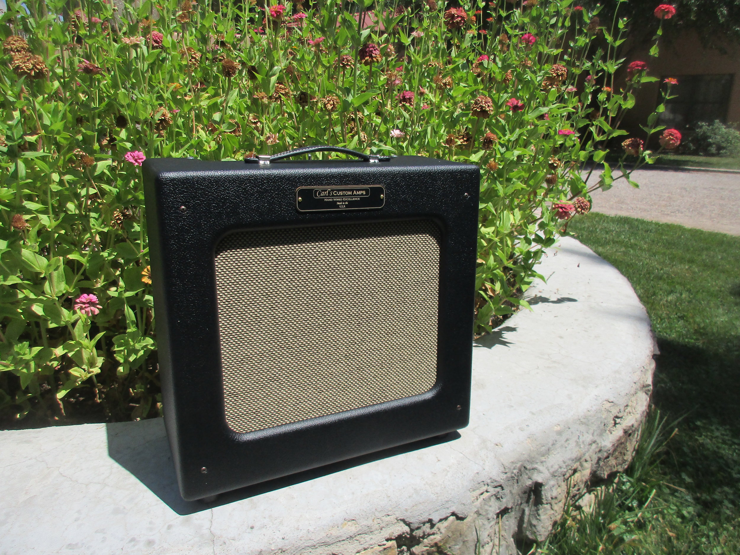 Classic Tweed Champ with TV Front and 1/4 power switch