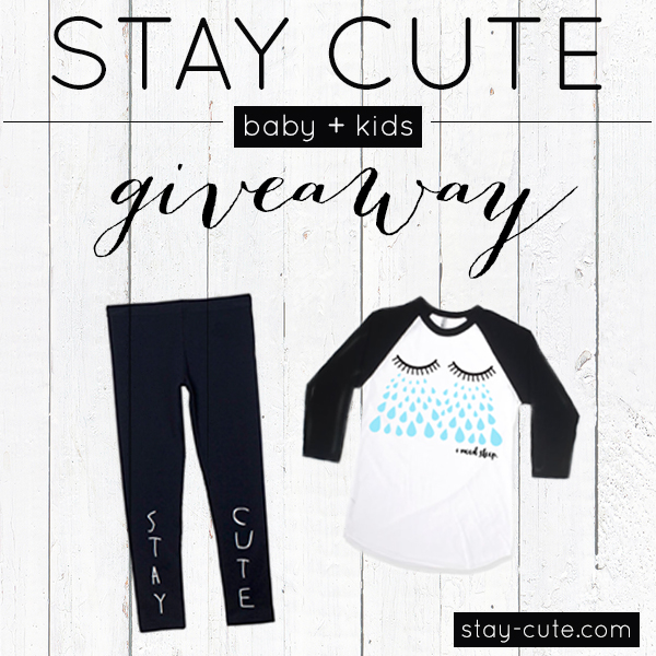 Keep your eye out for our next instagram giveaway to win the outfit above for your favorite little one. // @STAYCUTEXO