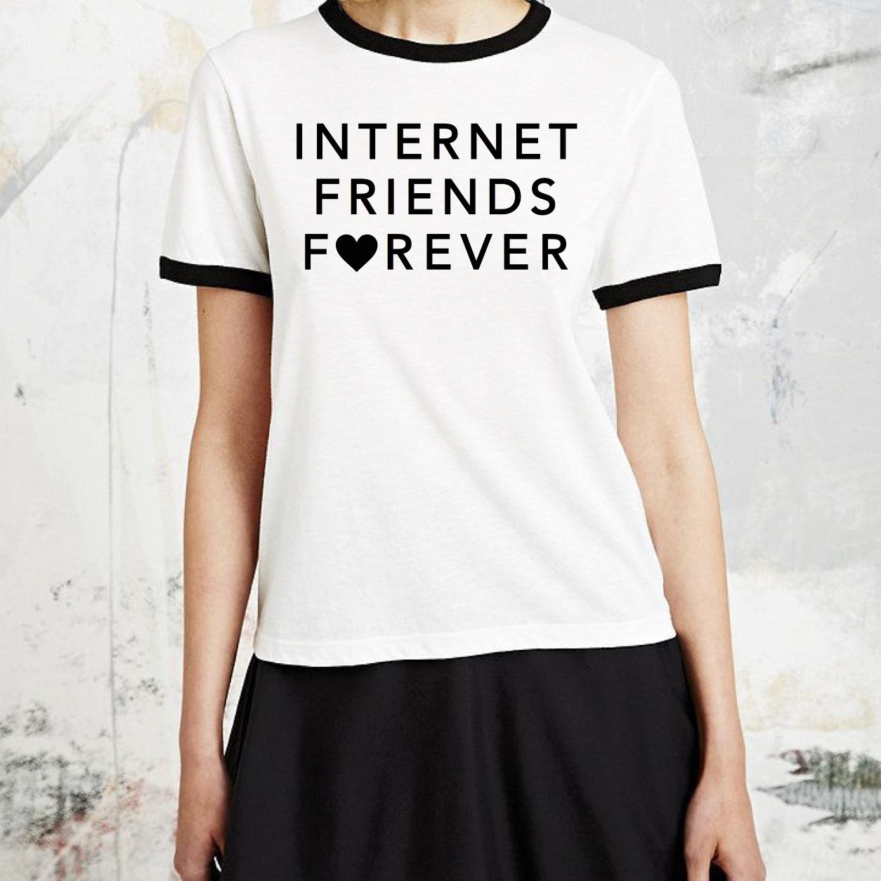 internetfriendsforever-ringer-tee