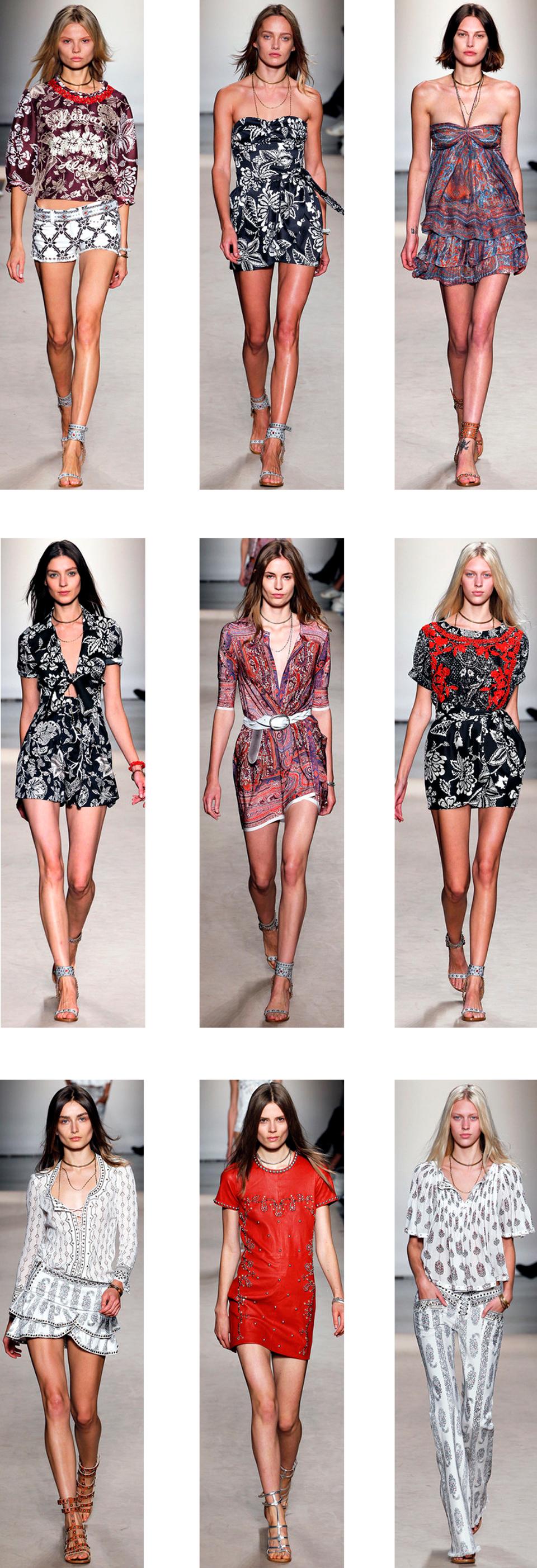All images via  www.style.com