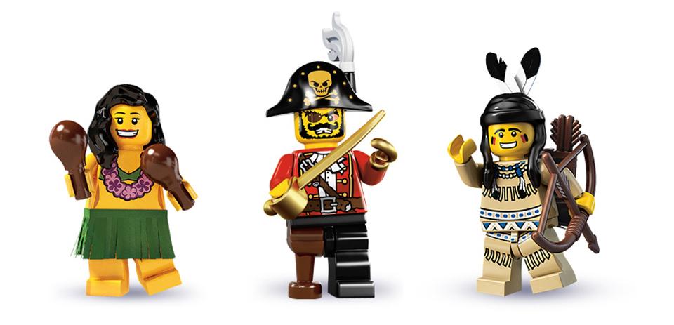 The inspiration, images via  LEGO.COM