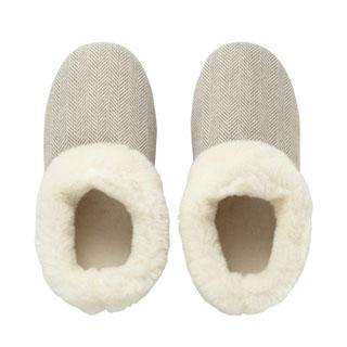 Herringbone Slippers,  Muji .