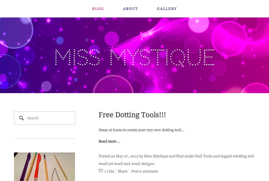 Miss Mystique Blog