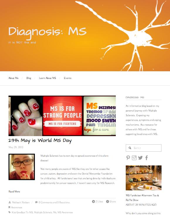 Diagnosis MS Blog