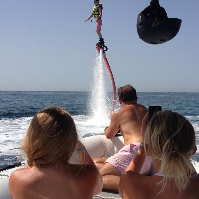 We are looking forward to go flyboarding in Mallorca again. Summer will come soon! #flyboard #mallorca #activities #fun #group @flyboardmallorca