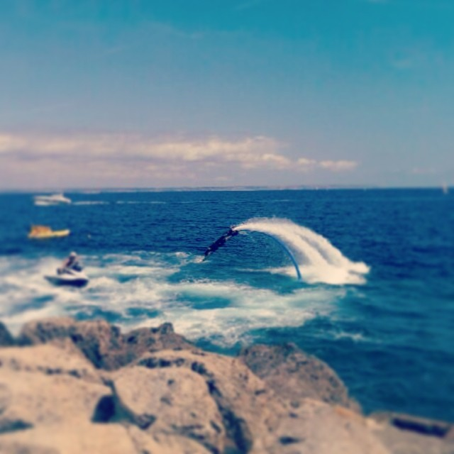 Flyboard show @meliamar every Monday!