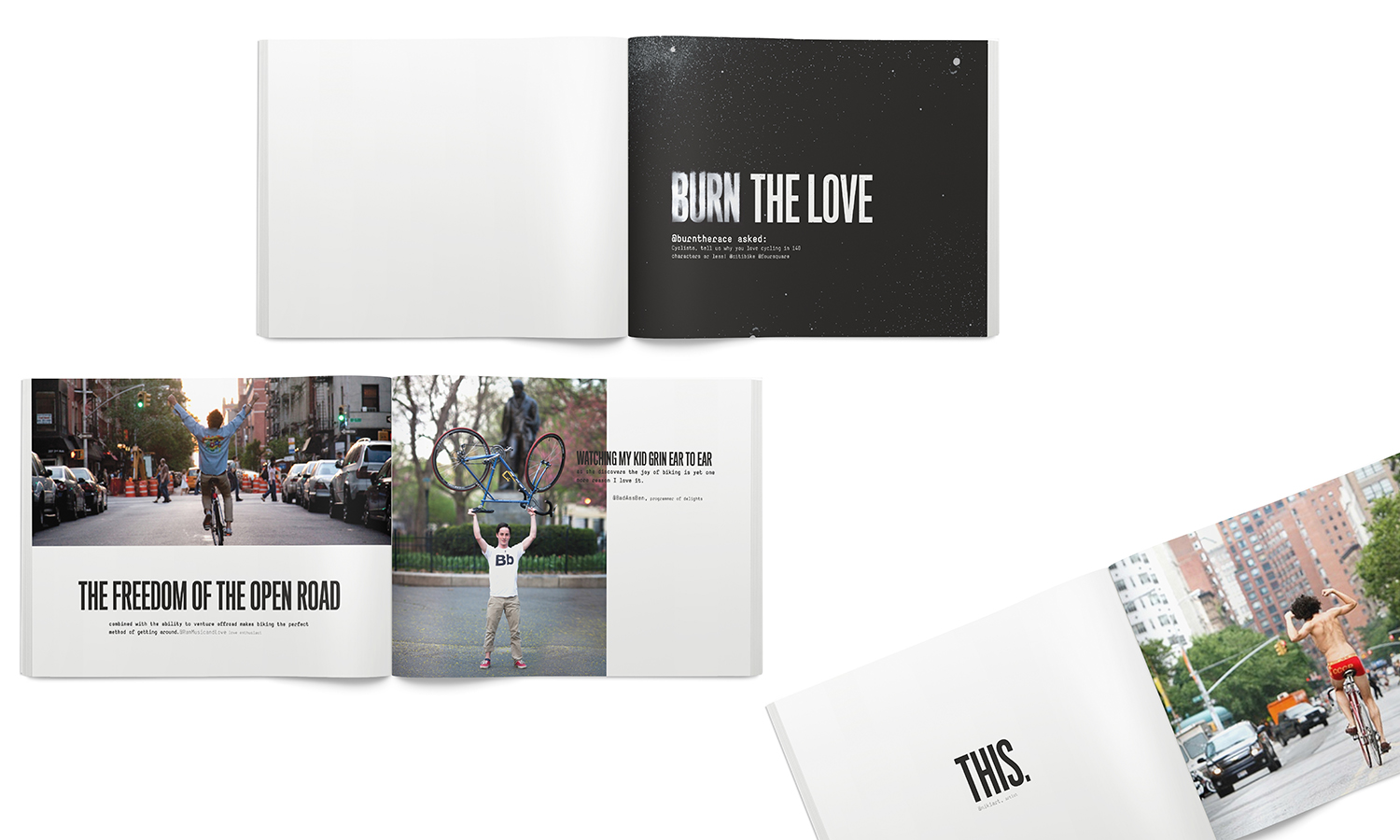 Editorial-style Event Book