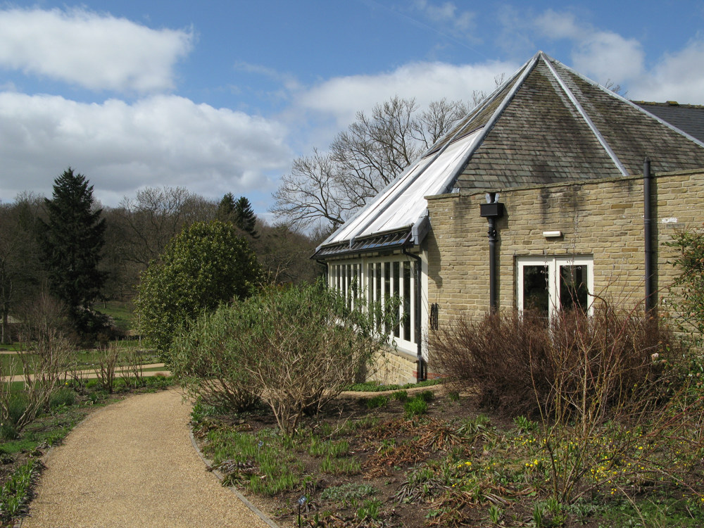 Betty's Tea Rooms Side Elevation @ RHS Harlow Carr, Harrogate
