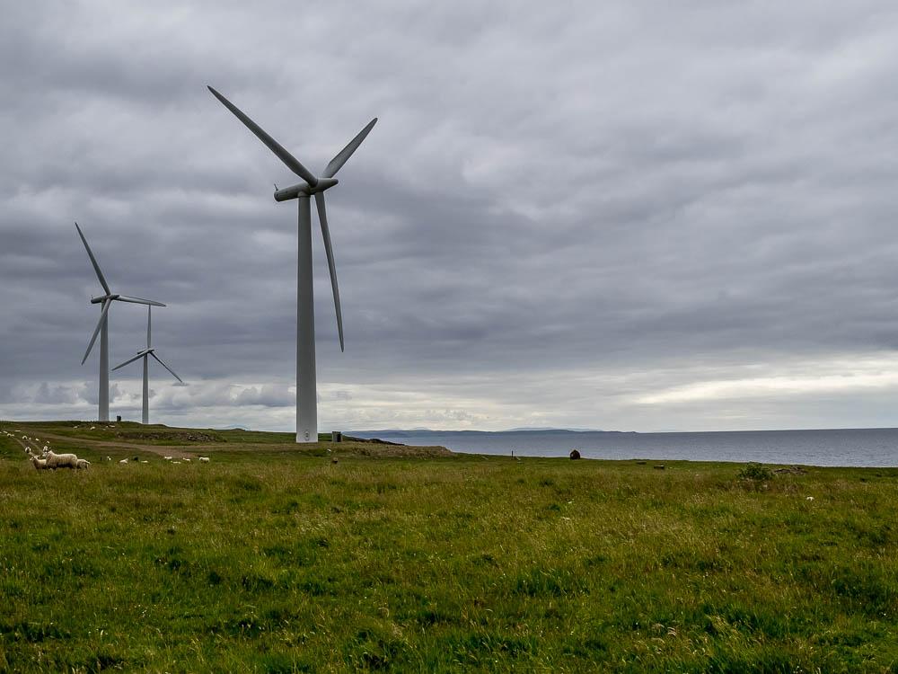 Windkraftpark in den schottischen Highlands: Kaum Bevölkerung, kaum Akzeptanzprobleme