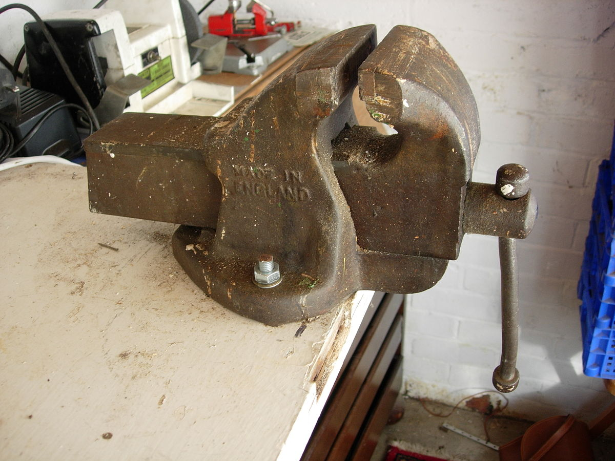 """""""Old vice"""" by Les Chatfield - Licensed under CC BY 2.0 via  Wikimedia Commons"""