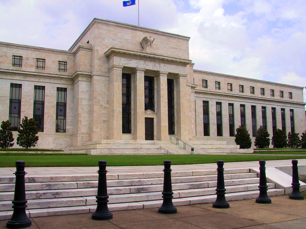 """Federal Reserve"" by Dan Smith, Licensed under CC BY-SA 2.5 via  Wikimedia Commons"