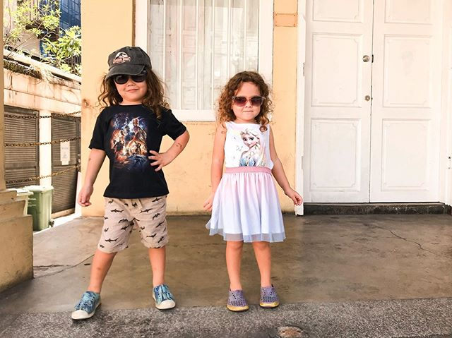 When your kids are cooler than you 😎 #oscarandriver