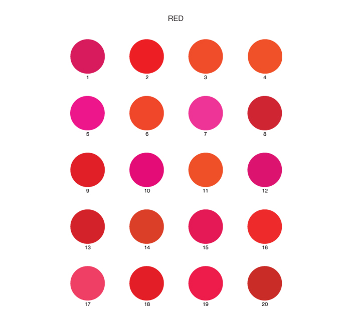 Fig. 1: Are all 20 circles the same color?