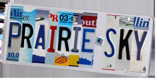 Prairie Sky Licence Plate.jpg