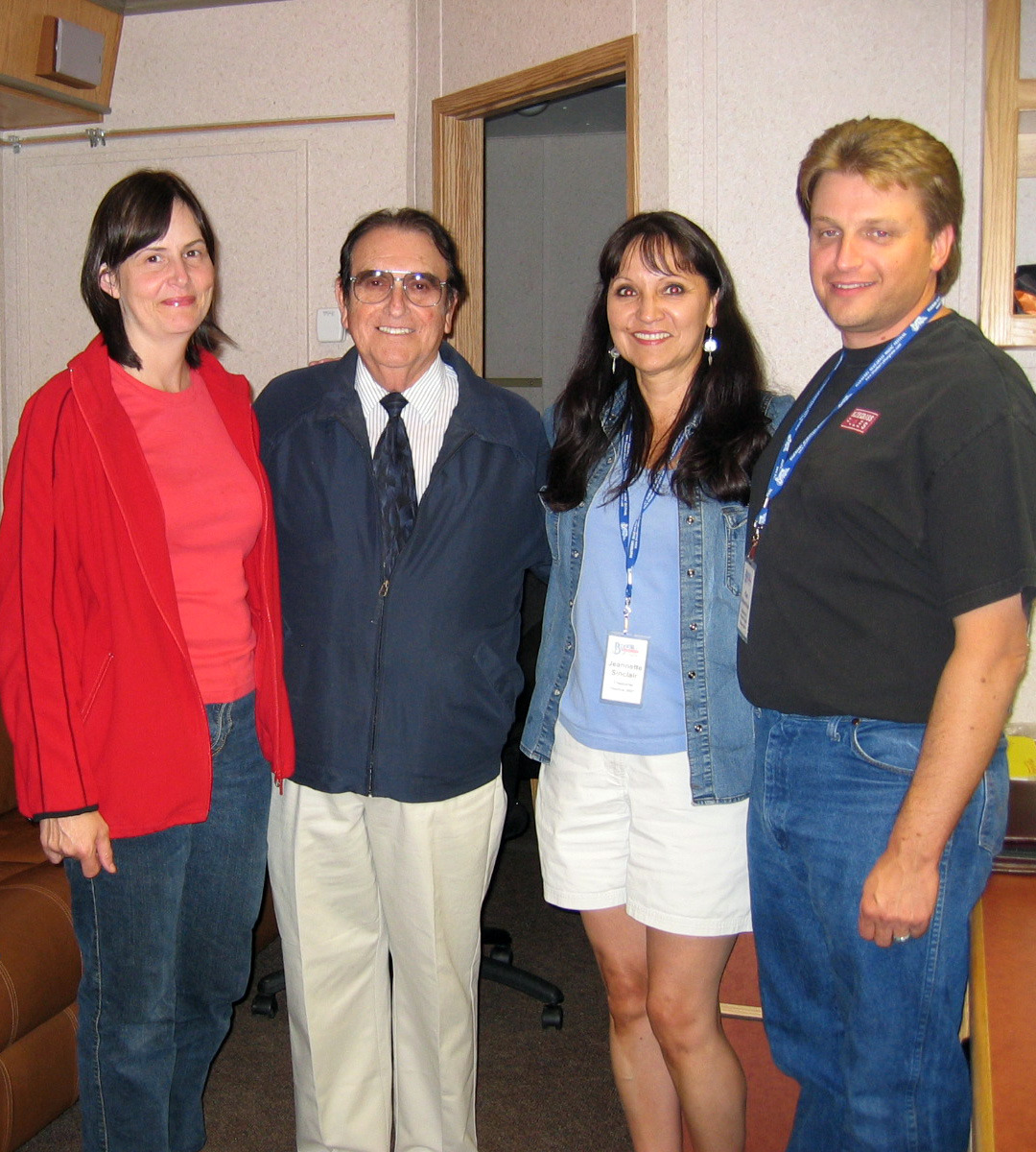 Sheila, Jeannette, & Ken with bluegrass legend Bobby Osborne August 05, 2008