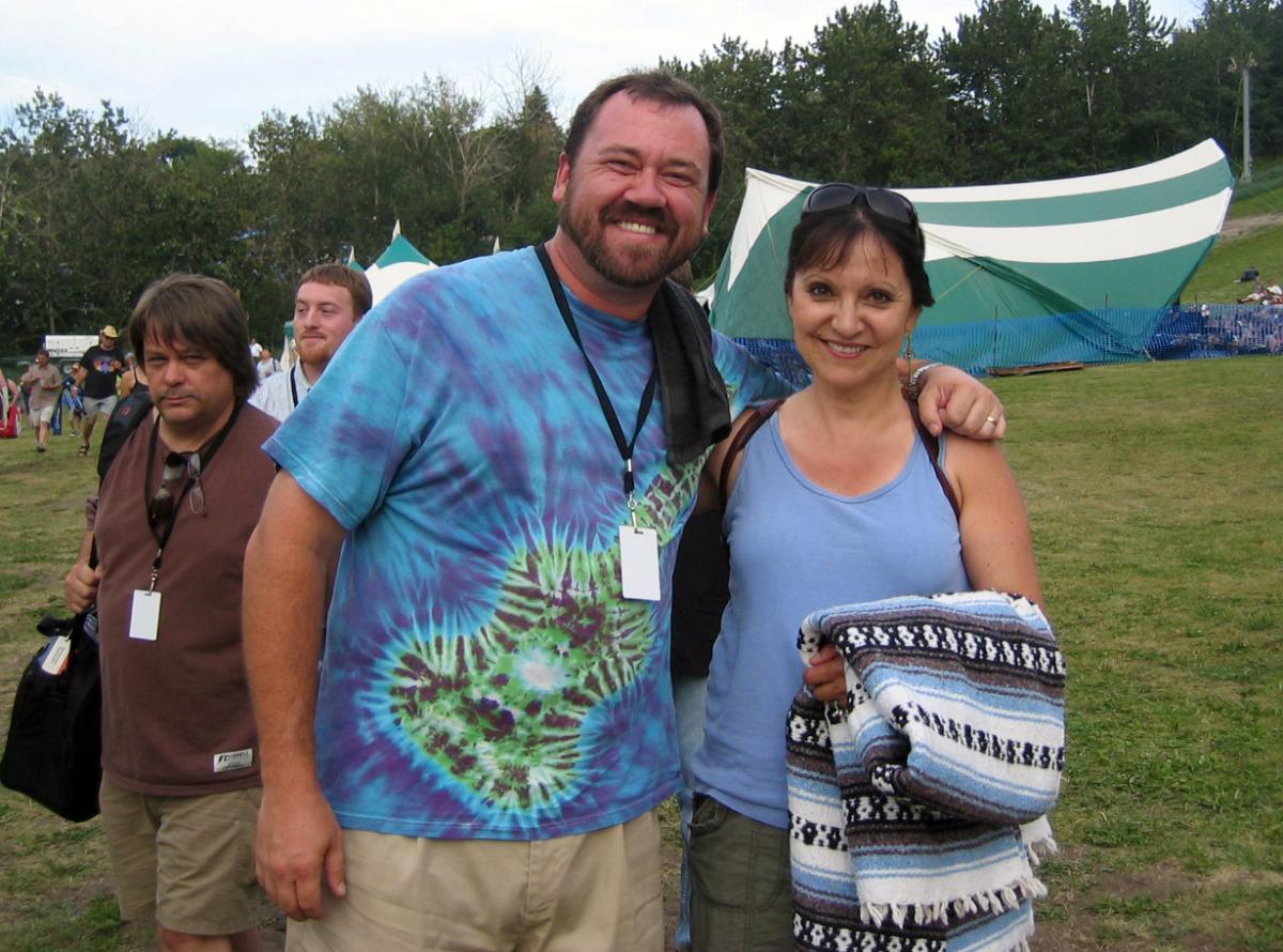 Jeannette with Dan Tyminski August 08, 2008