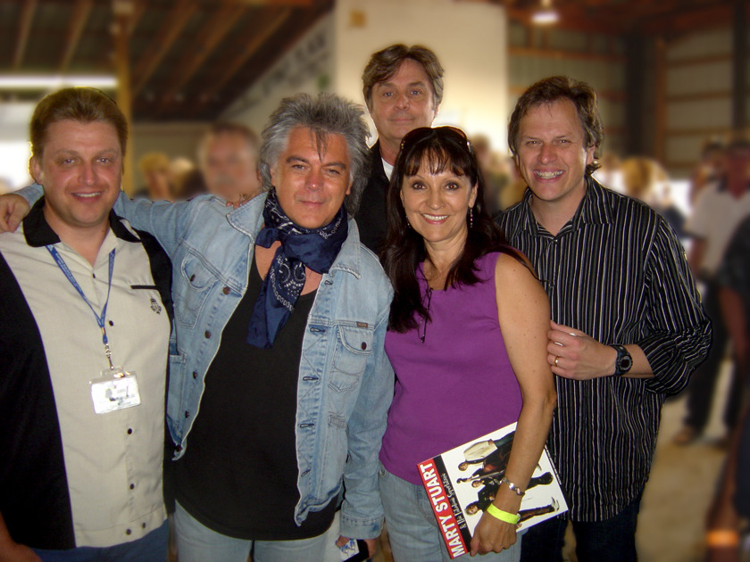 Jeannette & Ken with Marty Stuart and his Fabulous Superlatives July 31, 2009