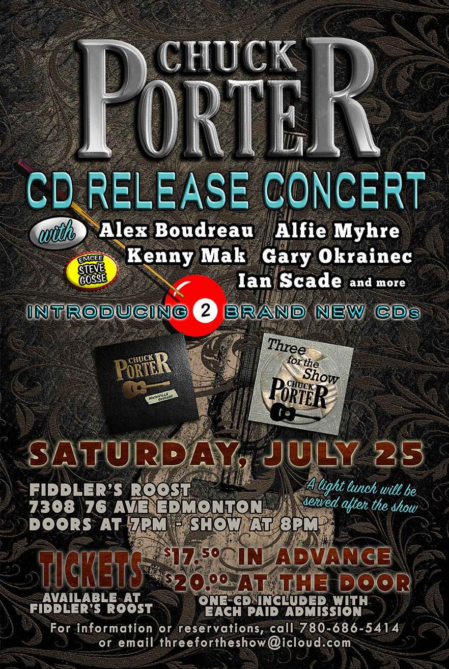 Chuck Porter CD Release Concert