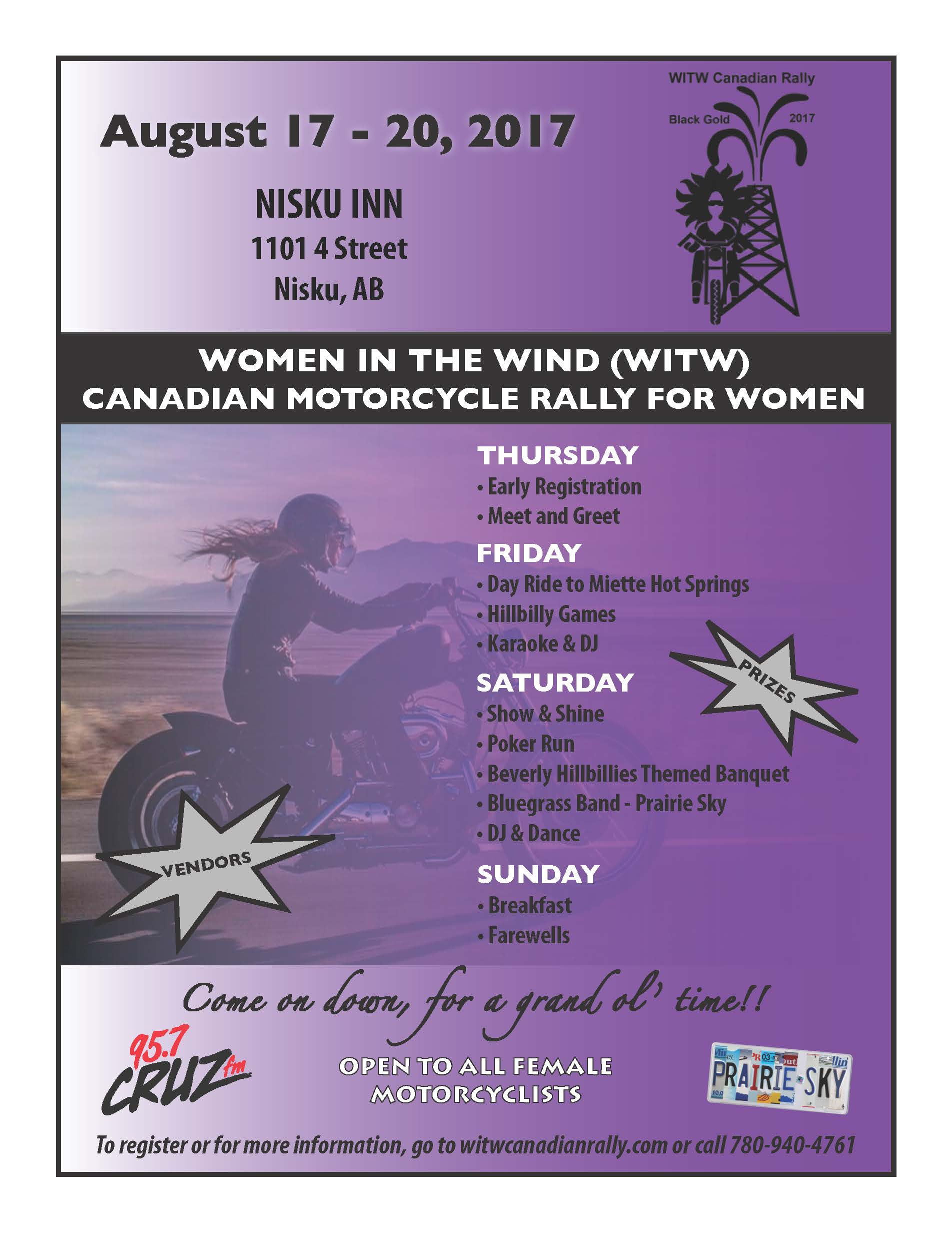 Women in the Wind Motorcycle Rally