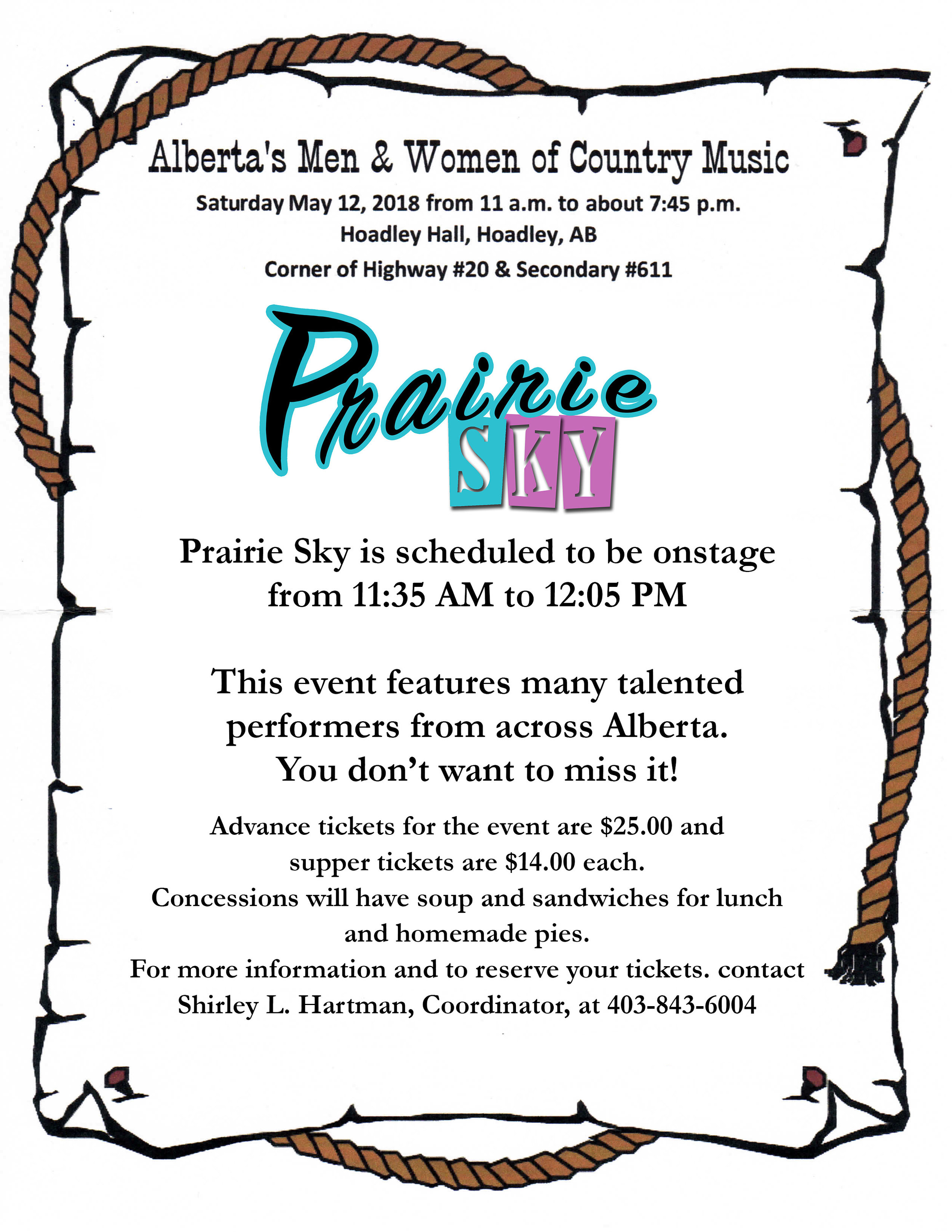 Prairie Sky - Alberta's Men & Women of Country Music