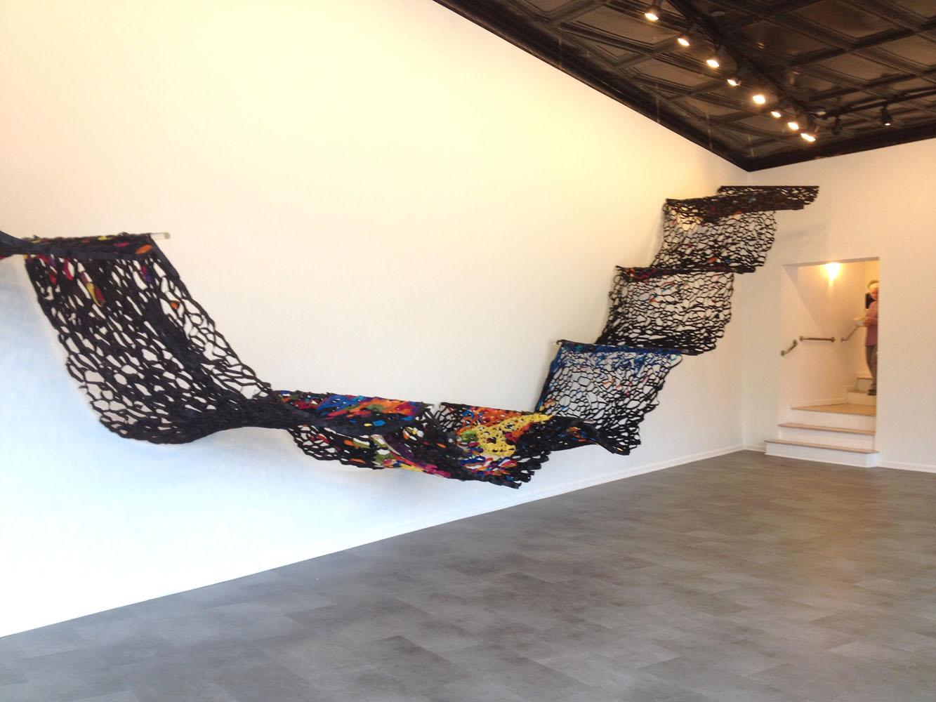 Tar Roofing Paper Suzan Shutan Installation Artist