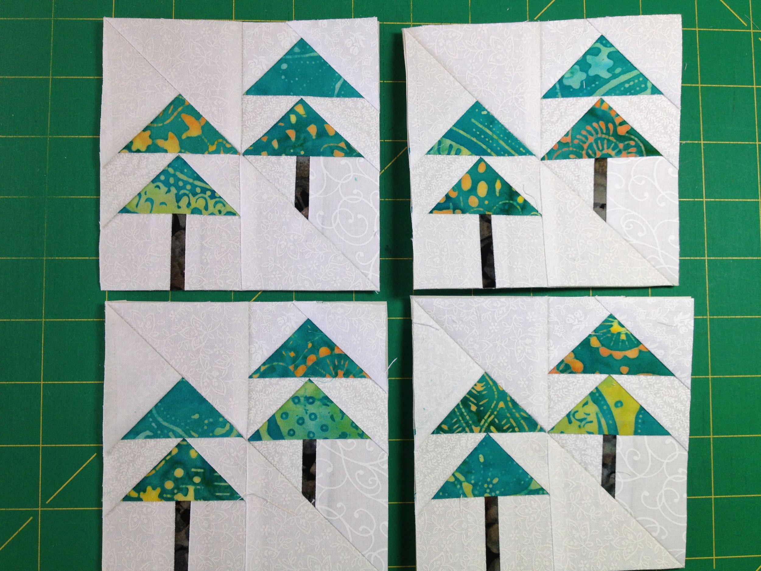 April blocks. Not as fond of these just 'cause trees were too small to do much with, but they work.