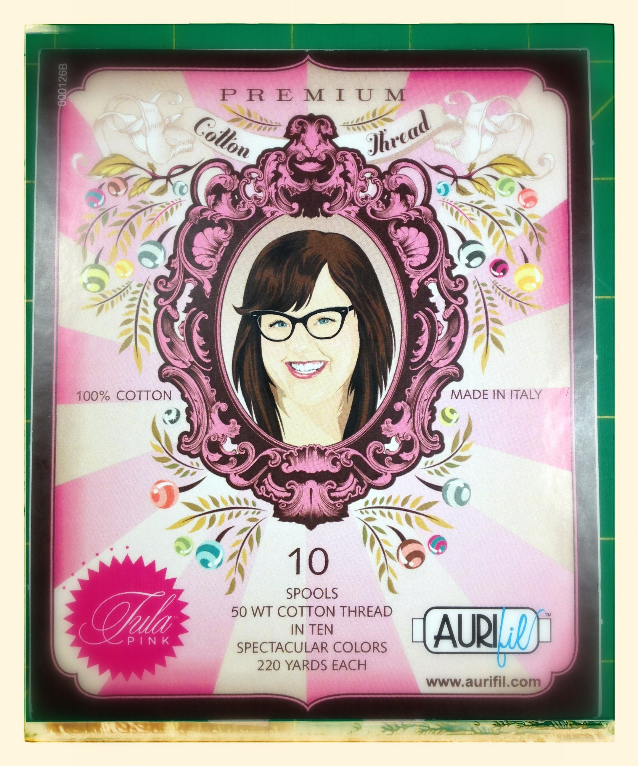 Tula Pink sampler pack (exterior)