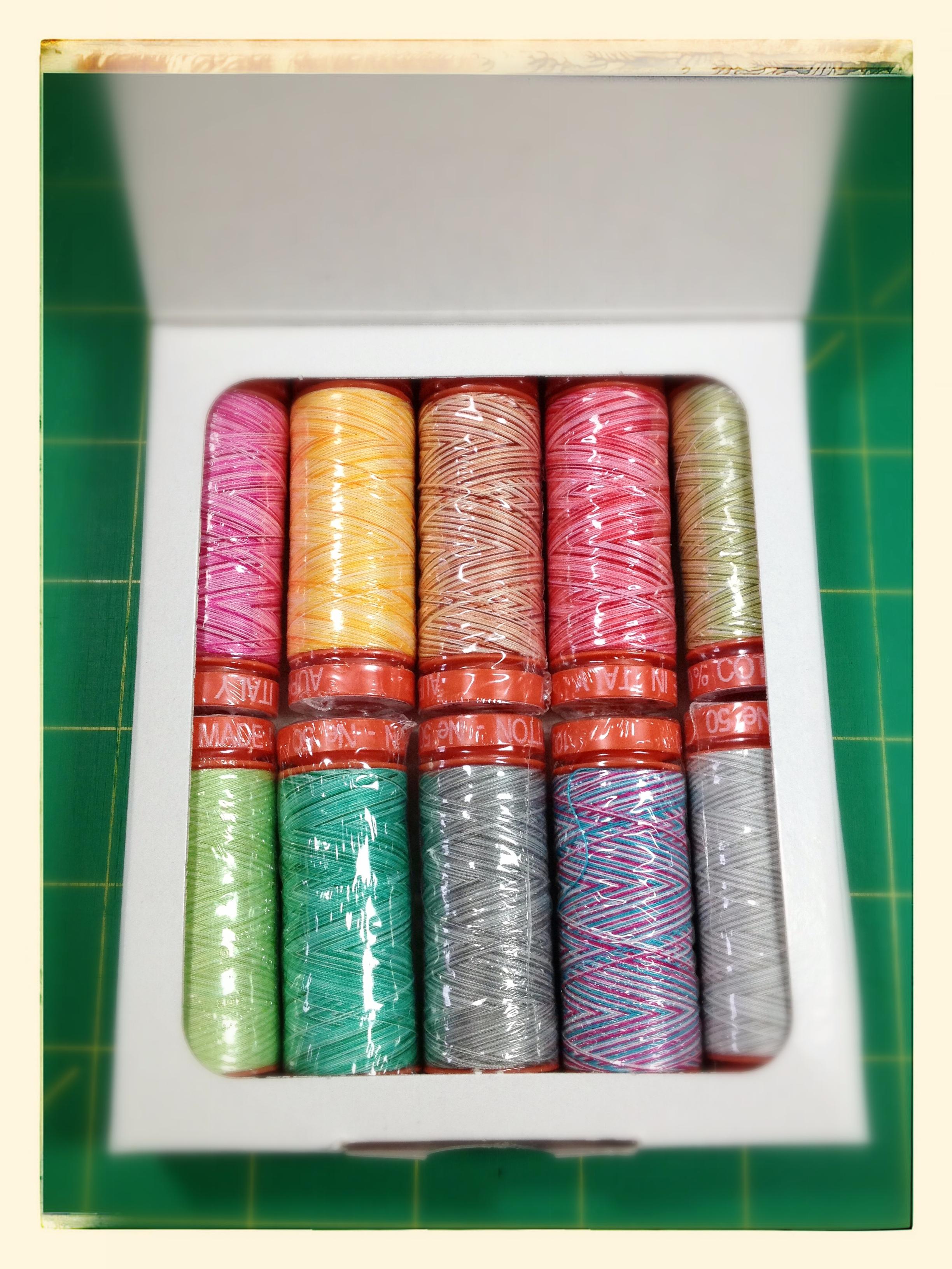 Tula Pink sampler pack (interior--10 spools)