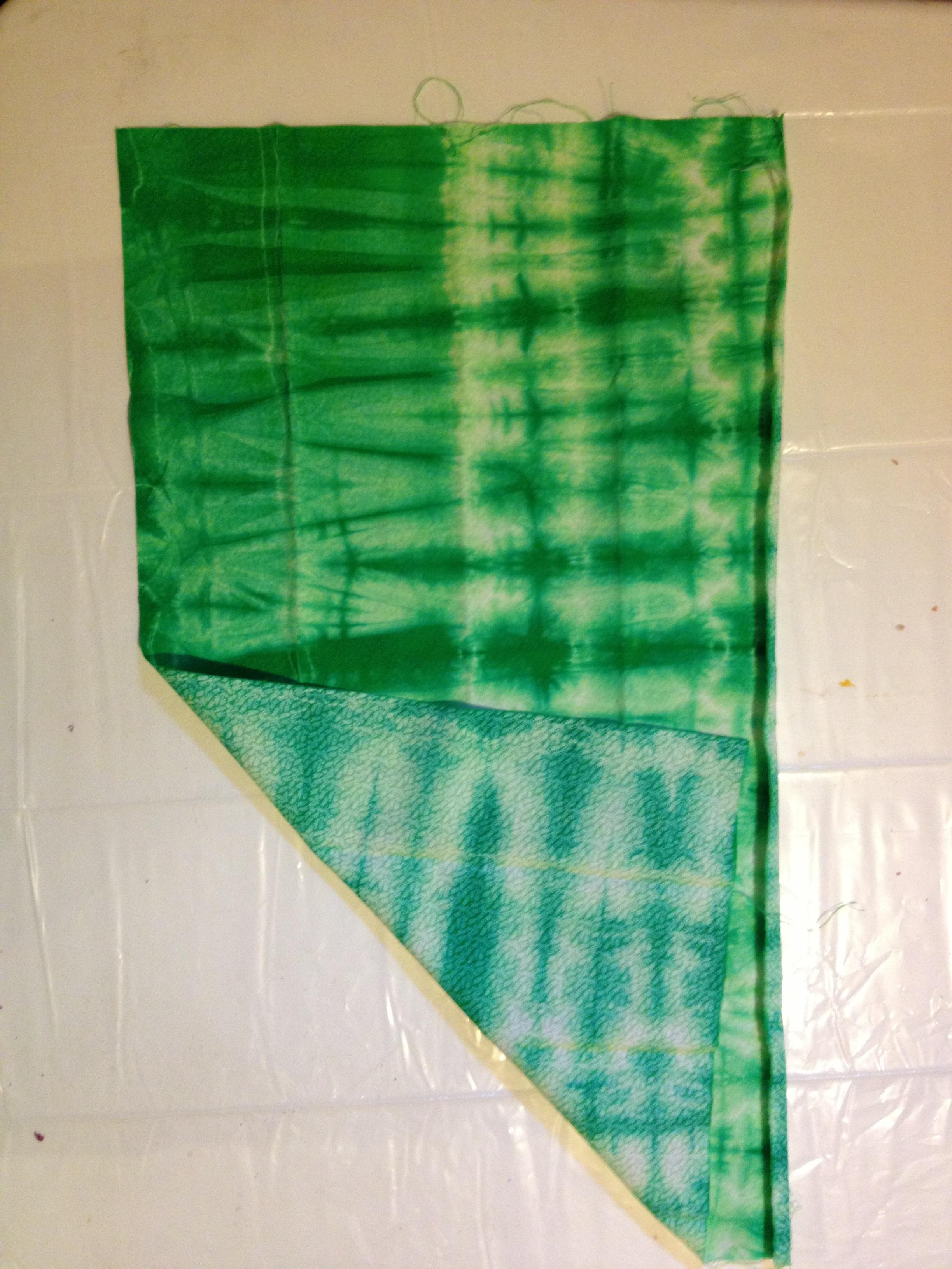 "Green ""before"" (tone on tone shown)"