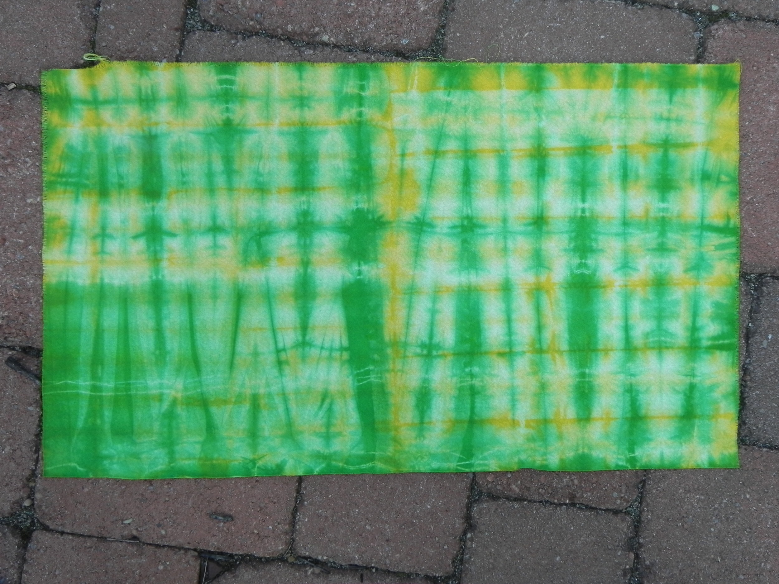 """Green and yellow grid """"after"""""""