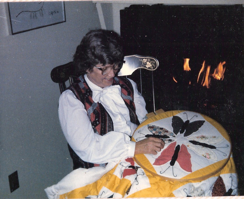 Shirley the Quilter