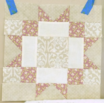 Jelly Roll Sampler block 10