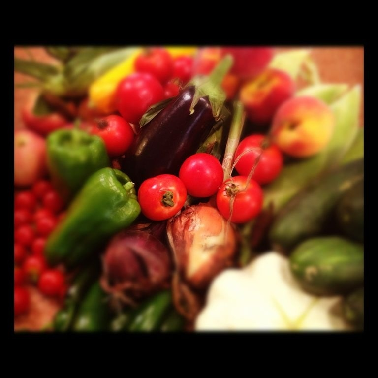A CSA delivery from 2013