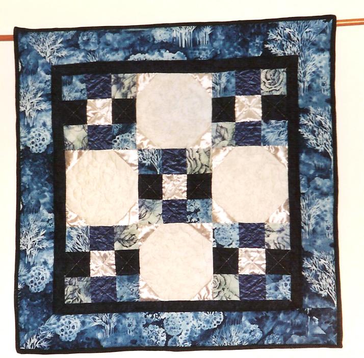 My first quilt--sorta