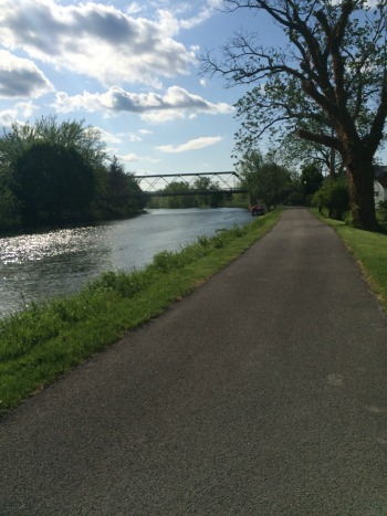 Love my little stretch of the canal...