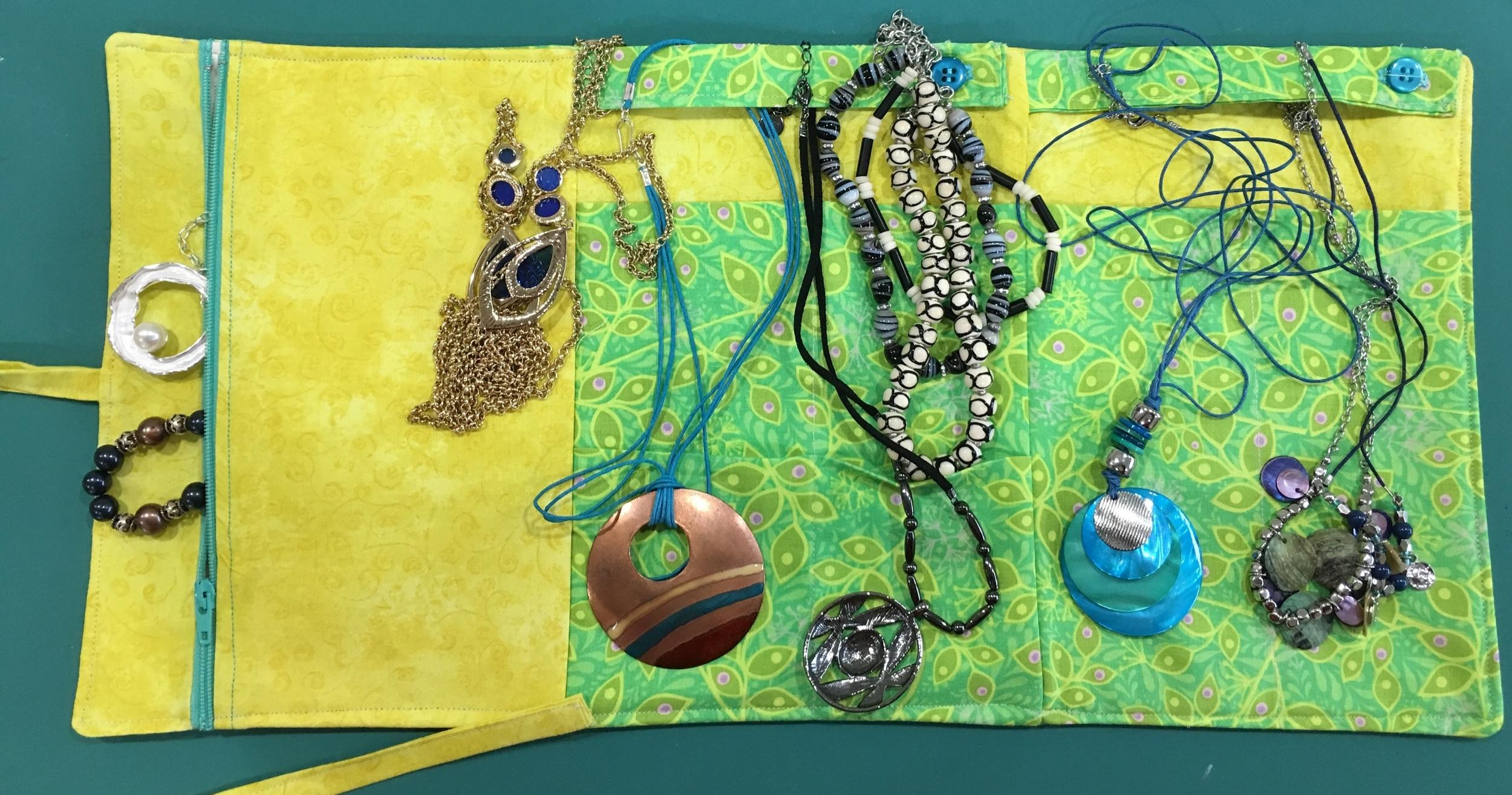 Interior w/ necklaces