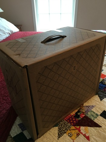 An impressively-sized box!