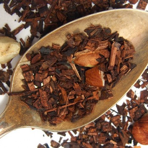 Chocolate Hazelnut tea, photo courtesy  plumdeluxe.com .