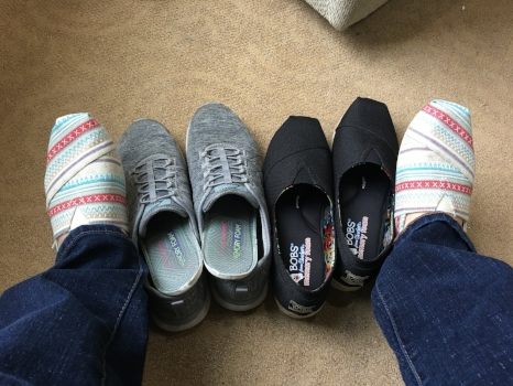 Skechers new and old