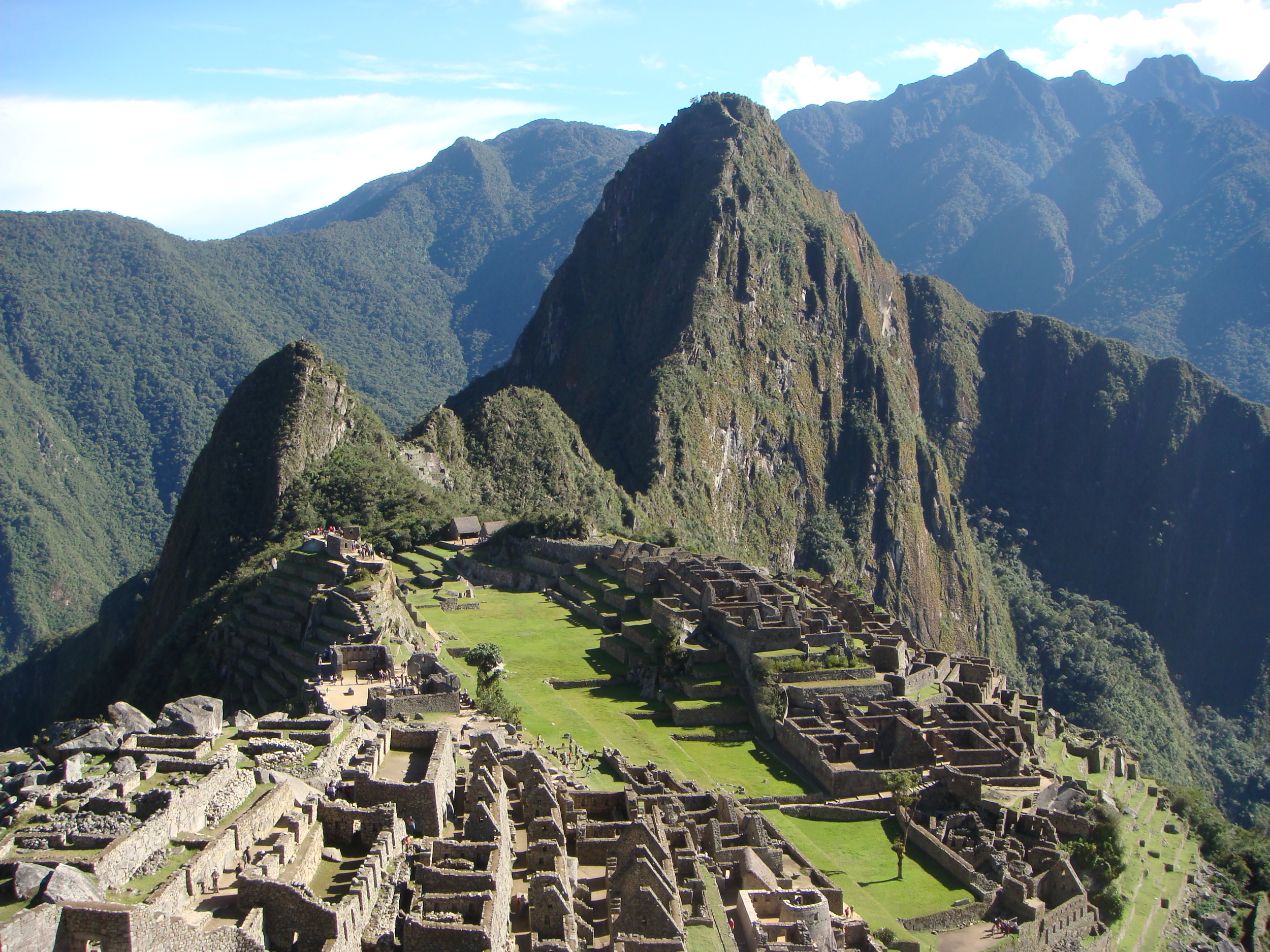 Machu Picchu is the dramatic finale to the Inca Trail.