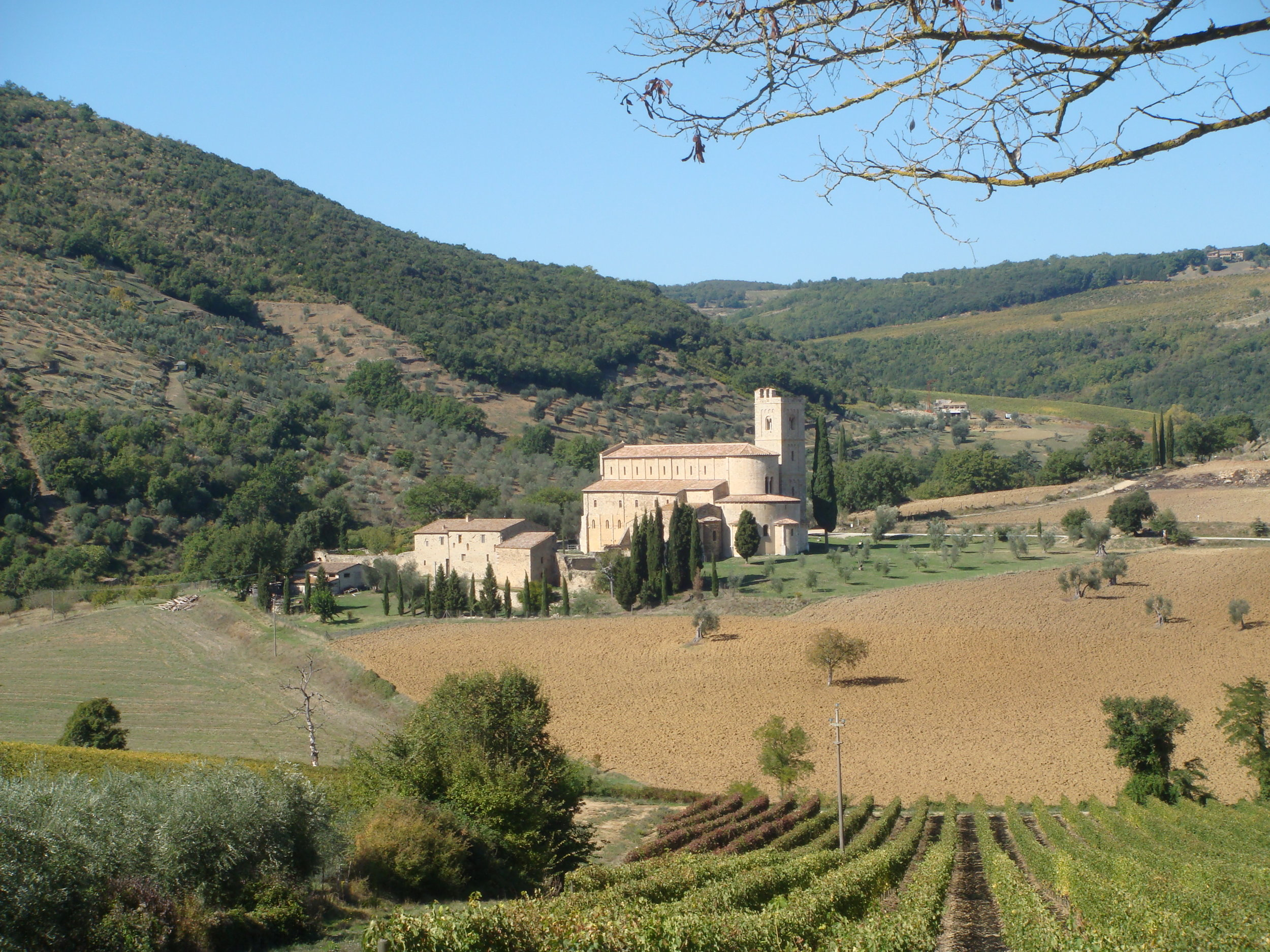 """The Val d'Orcia is a World Heritage Site, thought by some to the """"perfect"""" cultural landscape."""