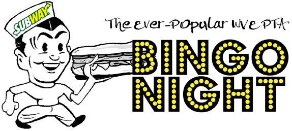 West Vincent Elementary's Hoagie Bingo Night is on Friday, December 6!