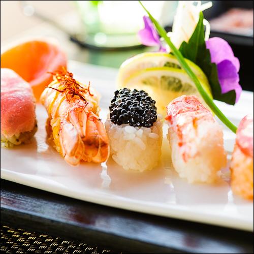 Sushi Platter - Sugar Beach Hotel