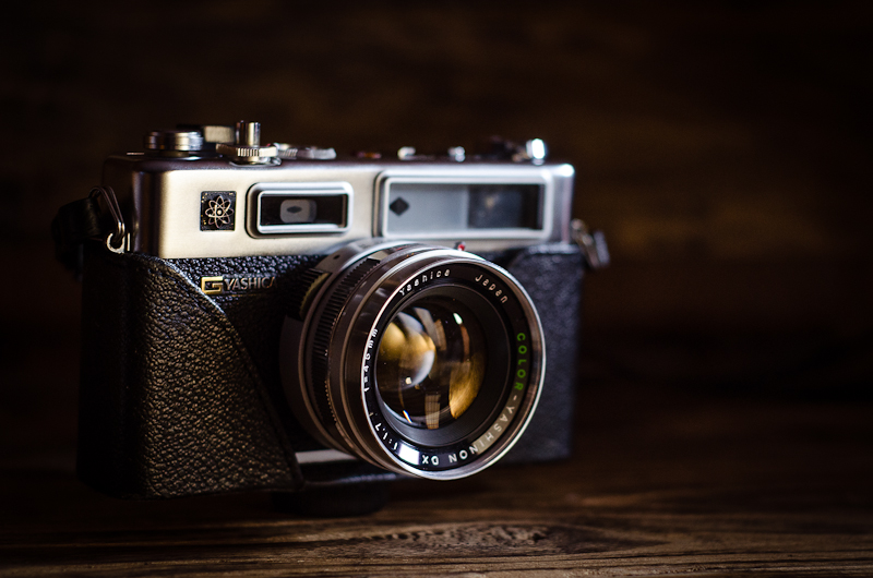 My Old School x100s - Yashica Electro 35 GSN