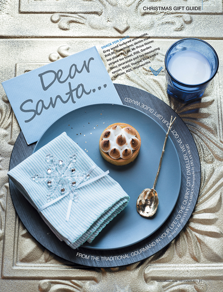 Dear Santa - Food & Home Entertaining Magazine