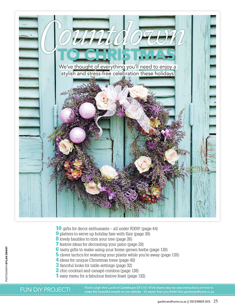 Christmas Wreath - Garden & Home Magazine