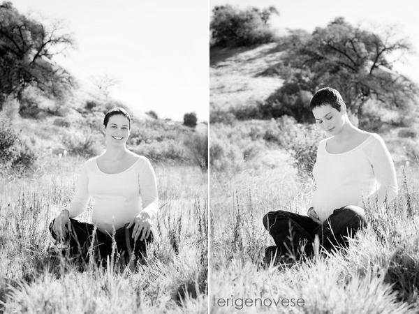 Malibu, California Maternity Portraits
